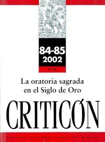 Criticon, n° 84-85 -