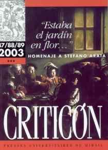 Criticon, n° 87-89 -