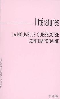 Littératures, n° 52 -