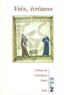 Cahiers de littérature orale, n° 52 -