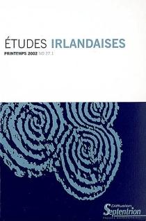 Etudes irlandaises, n° 27-1 -