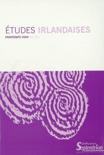 Etudes irlandaises, n° 29-1 -