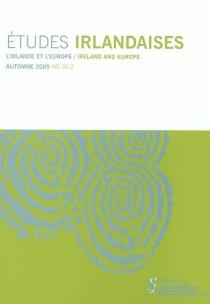 Etudes irlandaises, n° 30-2 -