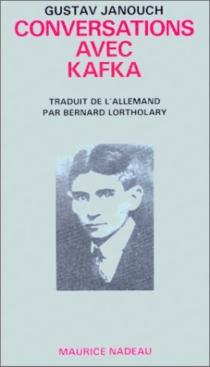 Conversations avec Kafka - GustavJanouch