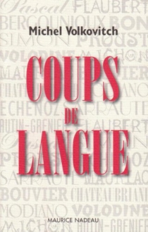 Coups de langue - Michel Volkovitch