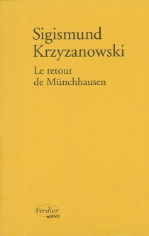 Le retour de Münchhausen - Sigizmund DominikovicKrzizanovskij