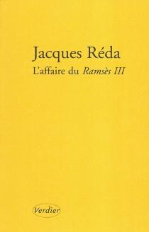 L'affaire du Ramsès III - JacquesRéda