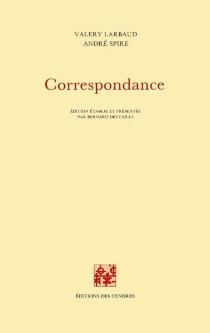 Correspondance - ValeryLarbaud