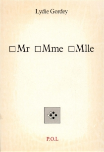 Mr Mme Mlle - LydieGordey