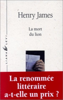 La mort du lion - Henry James