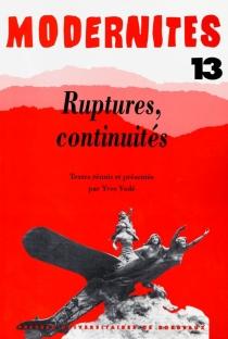 Modernités, n° 13 -