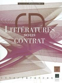 Littératures sous contrat - Groupe de recherche en poétique historique et comparée