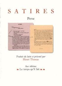 Satires - Perse