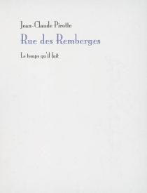 Rue des Remberges - Jean-ClaudePirotte