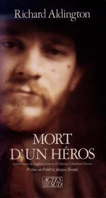 Mort d'un héros - RichardAldington