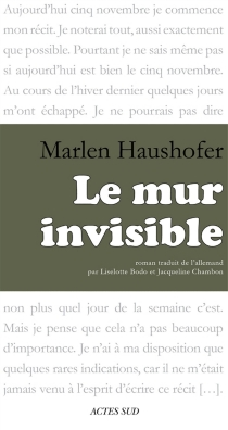 Le mur invisible - Marlen Haushofer