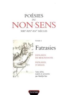 Philippe de Rémi Beaumanoir| Poésies du non-sens| édition Martijn Rus -