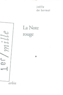 La note rouge - Joëlle de Sermet