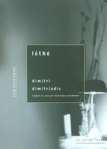 Léthé : cinq monologues - DimitrisDimitriadis