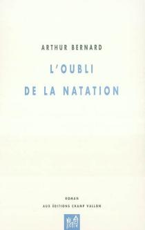 L'oubli de la natation - ArthurBernard