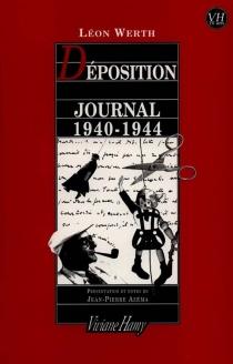 Déposition : journal, 1940-1944 - LéonWerth