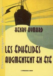 Les éphélides augmentent en été - HenryAymard