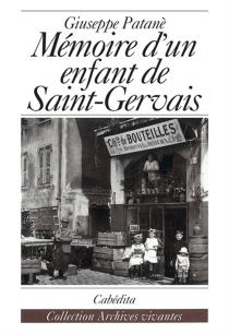 Mémoire d'un enfant de Saint-Gervais - GiuseppePatané