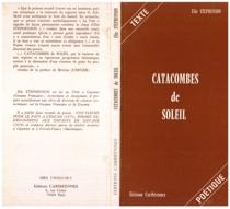 Catacombes de soleil - ÉlieStephenson
