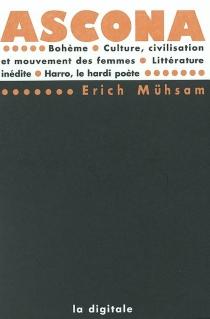 Ascona  Bohème  Culture, civilisation et mouvement des femmes -
