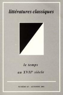 Littératures classiques, n° 43 -