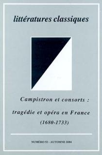 Littératures classiques, n° 52 -