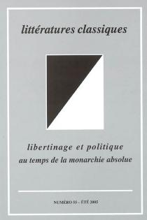 Littératures classiques, n° 55 -