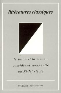 Littératures classiques, n° 58 -