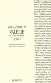 Valérie ou L'oeil profane - EricaPedretti