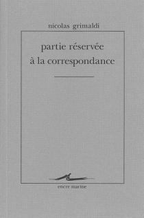 Partie réservée à la correspondance - NicolasGrimaldi