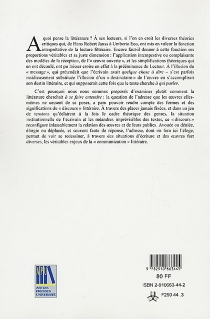 Eloge de l'adresse : actes du colloque de l'Université d'Artois, 2-3 avril 1998 -