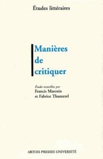 Manières de critiquer -