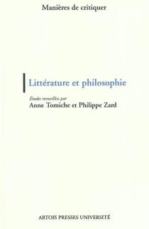 Littérature et philosophie -