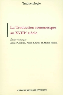 La traduction romanesque au XVIIIe siècle -