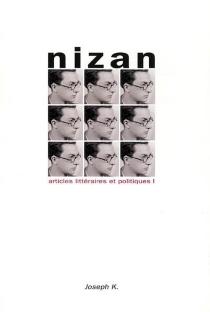 Articles littéraires et politiques - PaulNizan