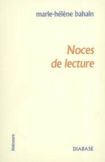 Noces de lecture - Marie-HélèneBahain