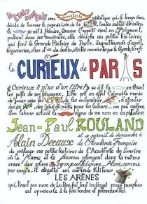 Le curieux de Paris - Jean-PaulRouland