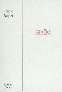 Haïm - ErnestBogler