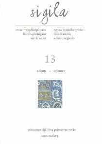 Sigila, n° 13 -