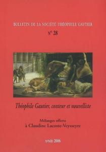 Bulletin de la société Théophile Gautier, n° 28 -