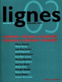 Lignes, nouvelle série, n° 3 -