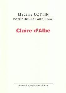Claire d'Albe - SophieCottin