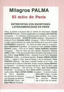 El mito de Paris : entrevistas con escritores latinoamericanos en Paris - MilagrosPalma