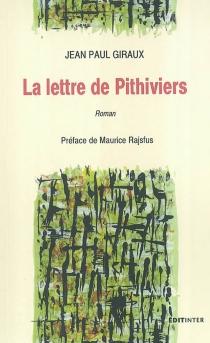 La lettre de Pithiviers - Jean-PaulGiraux