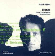 Lecture : suivie d'un entretien avec Jean-Marie Planes - HervéGuibert